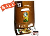 Starbucks VIA Colombia Single Cup Instant Coffee