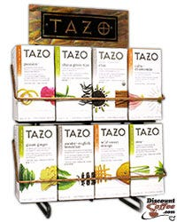 TAZO Metal Tea Rack (Not Filled) Tazo Tea Bags