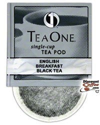 Tea One English Breakfast Tea Bulk Single Cup Tea Pod